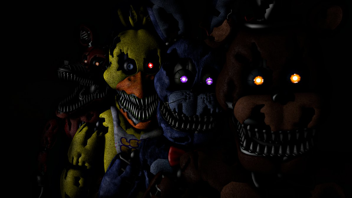 List all characters of fnaf 4