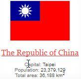 what is capital of The Republic of China ?