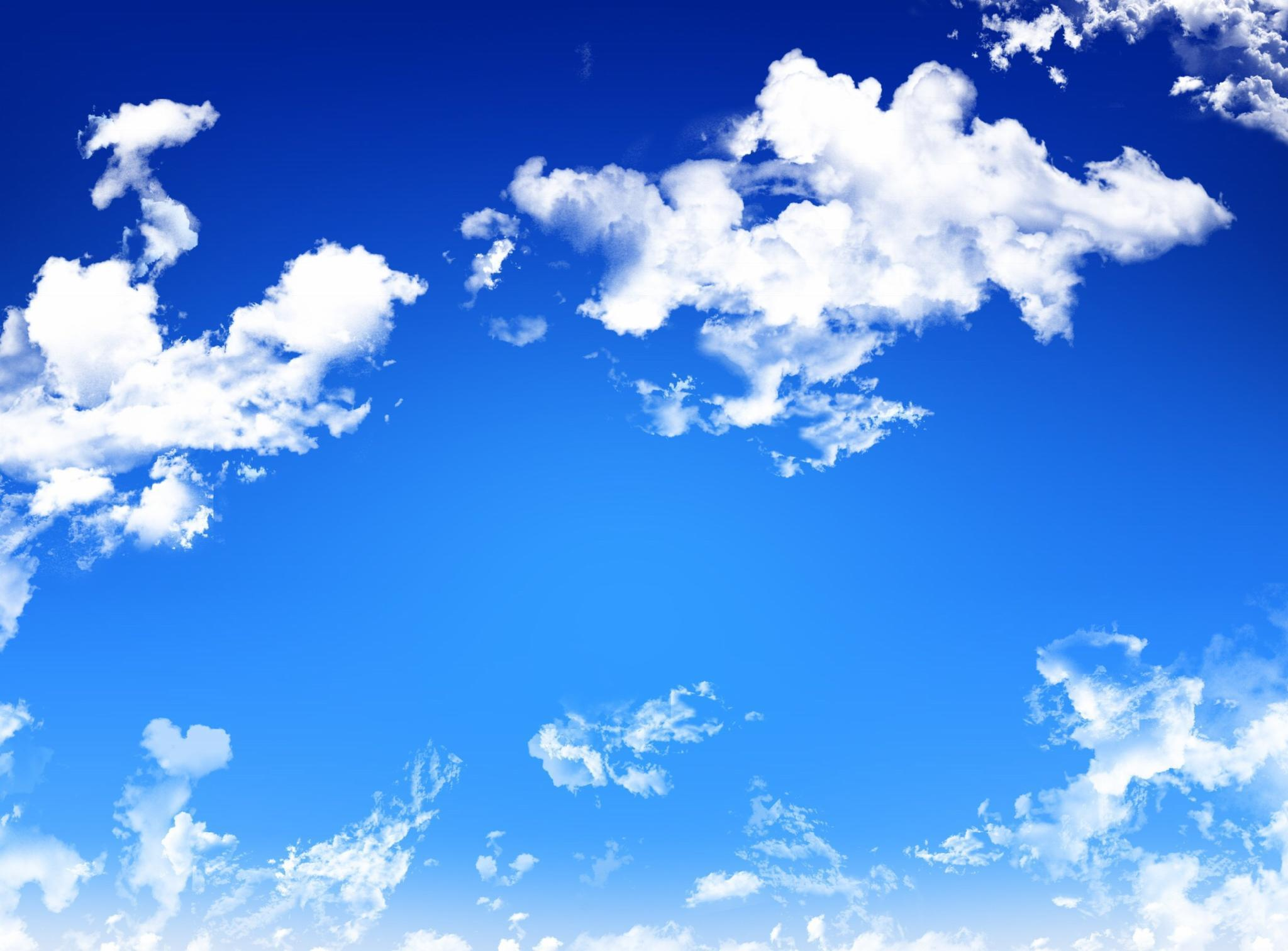 What colour are clouds most of the time?