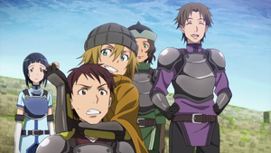 What is the name of the guild the main character joins in the 3rd episode.