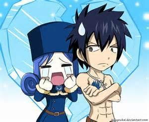 how does Gray feel for Juvia?