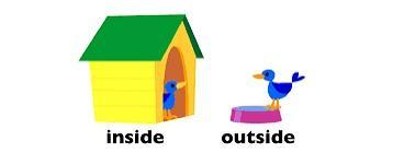 Do you prefer to stay inside, or to go outside?