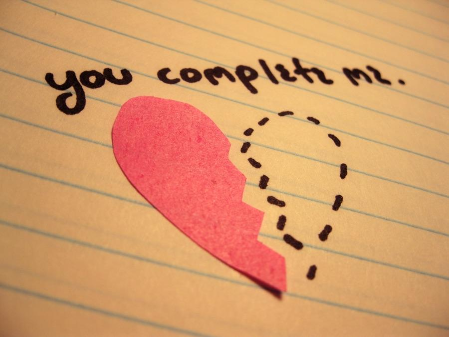 "Does he ever tell you ""you complete me"""