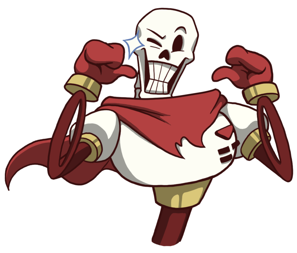 Me: Question five!! *grabs popcorn. So what do you think Papyrus`s favourite food is?