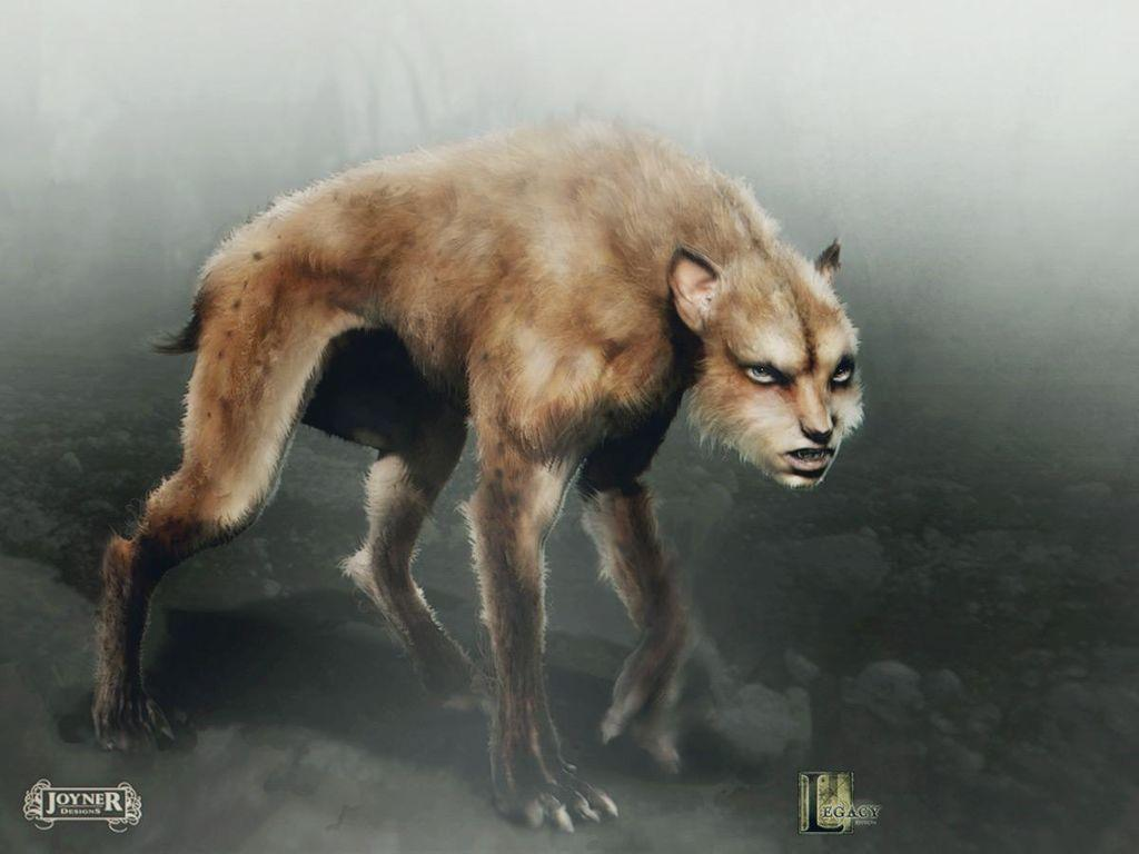 The wolf mutts in Katniss's first games have things that either resemble or were part of all the other fallen tributes, witch of the following did they have?