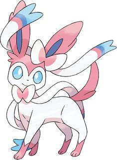 You release a fairy type Pokemon, sylveon, an evolution form of eevee. Before you have your sylveon release an attack on the zoroark you need to get zoroarks attention. What do you do to get zoroark to notice you?