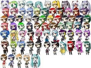So, you like Chibi things? -3-