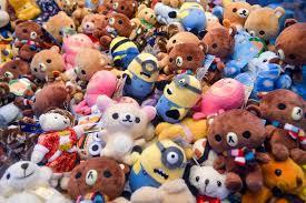 Pick a stuffed toy.