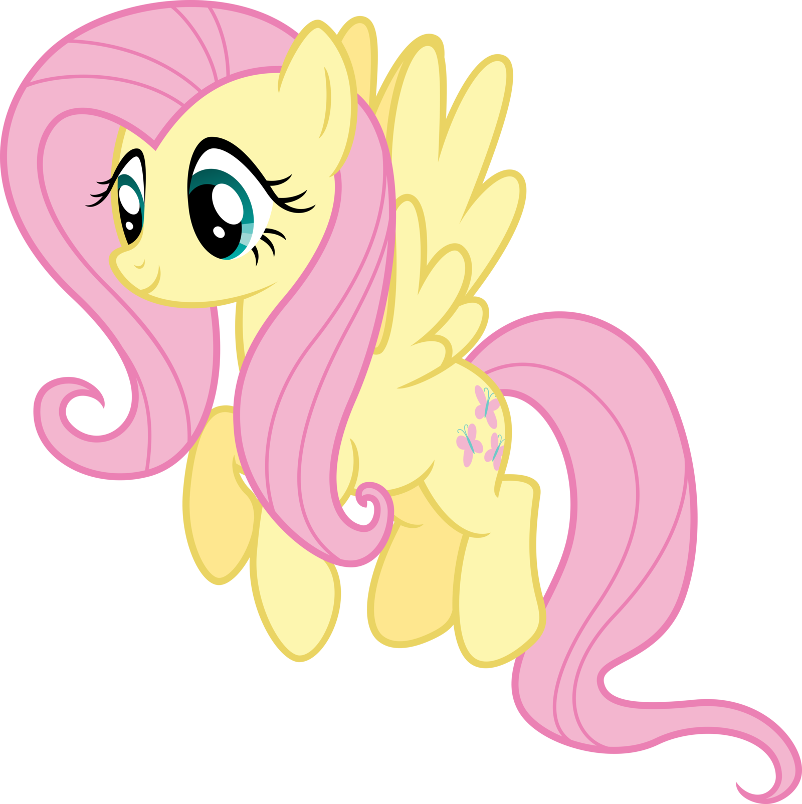 Me : Hello! It's me, CadanceCrystal! Now today, Fluttershy is talking with you!  Fluttershy : Um.. Hi!