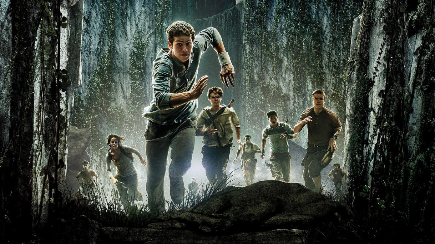 What is the name of the leader of the Gladers in The Maze Runner?