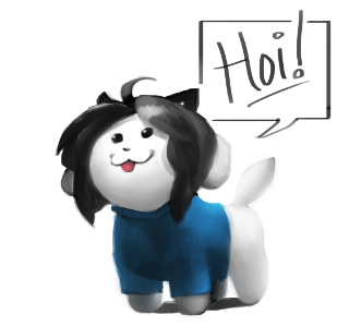 Welcome to the quiz special guest here Temmie! Temmie: HOI!