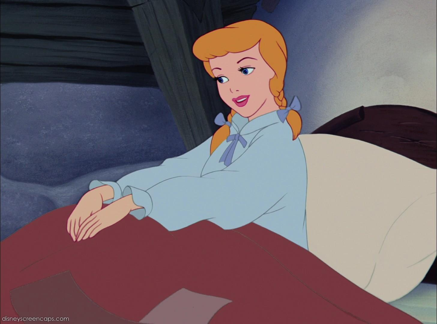 What song does Cinderella sing when she wakes up?