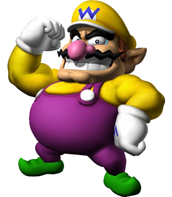 True or False: Wario is an unlockable character