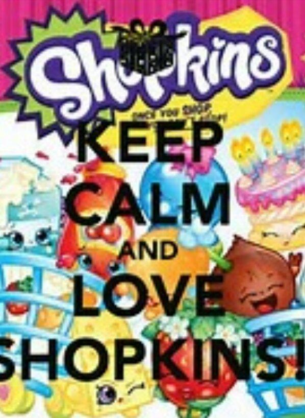 Are you considered a baby of you like shopkins?