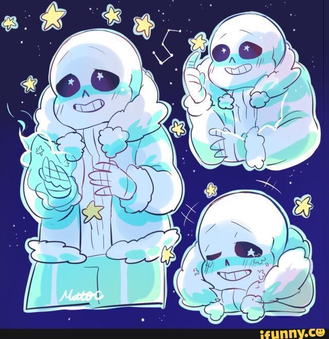 Ok and Last but not least, OuterTale Sans! go on star gazer :3 OT Sans: heh yea yea.....do you like to watch the night sky?