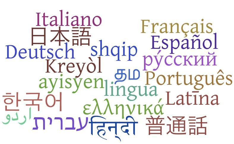 Would you ever like to learn a second or third language, if you haven't already?