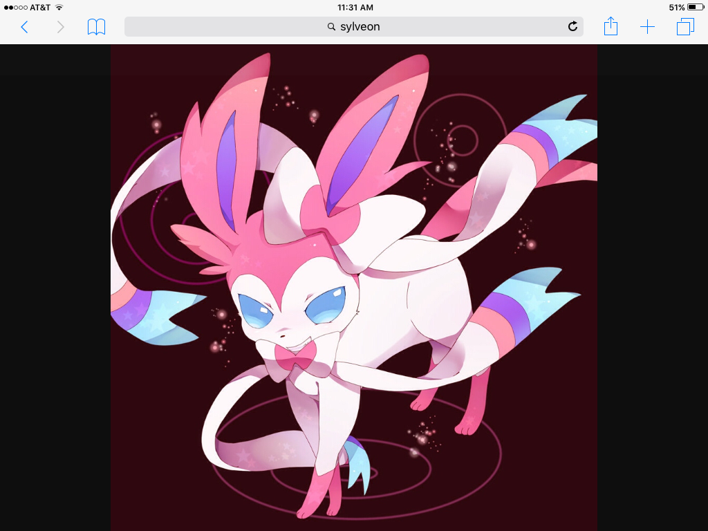 catgiraffe: Alright Sylveon, your up.  Sylveon: OK!! Do you like dancing?