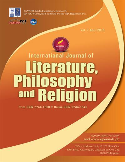 A journal article on literature?