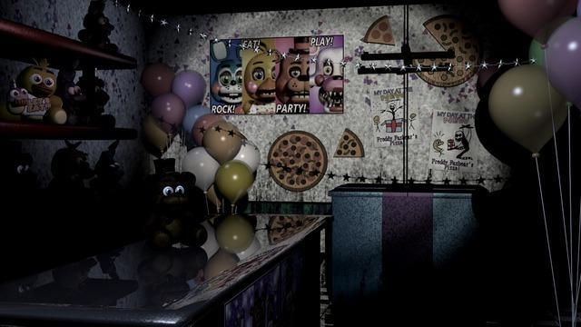 In FNaF 2 in the prize corner is Candy really there?