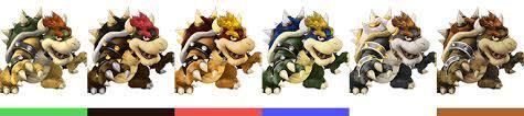 does Bowser have a twin
