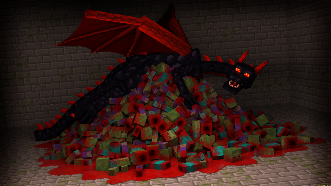 Is this how the Enderdragon looks like?
