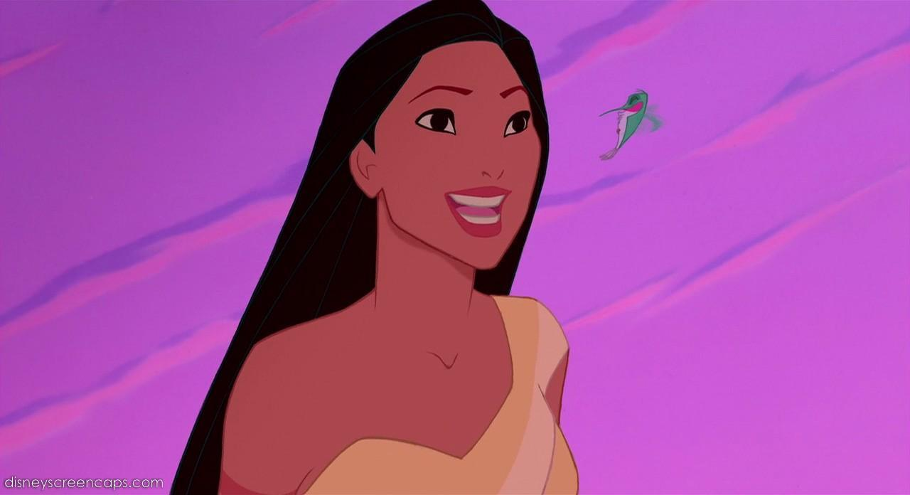 What is Pocahontas's friend's name?