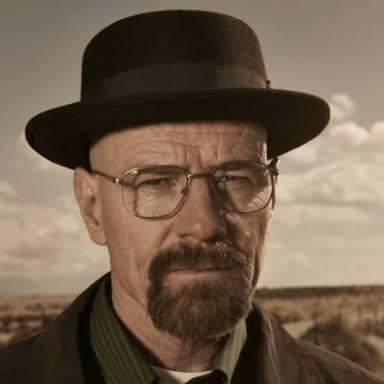 What business name Walter White became famous with?