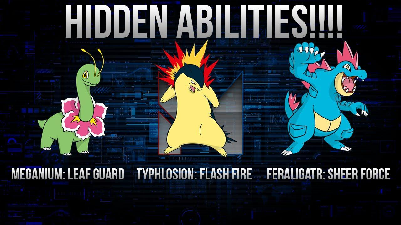 What is your hidden ability?