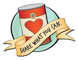 Do you often donate to school canned food drives?