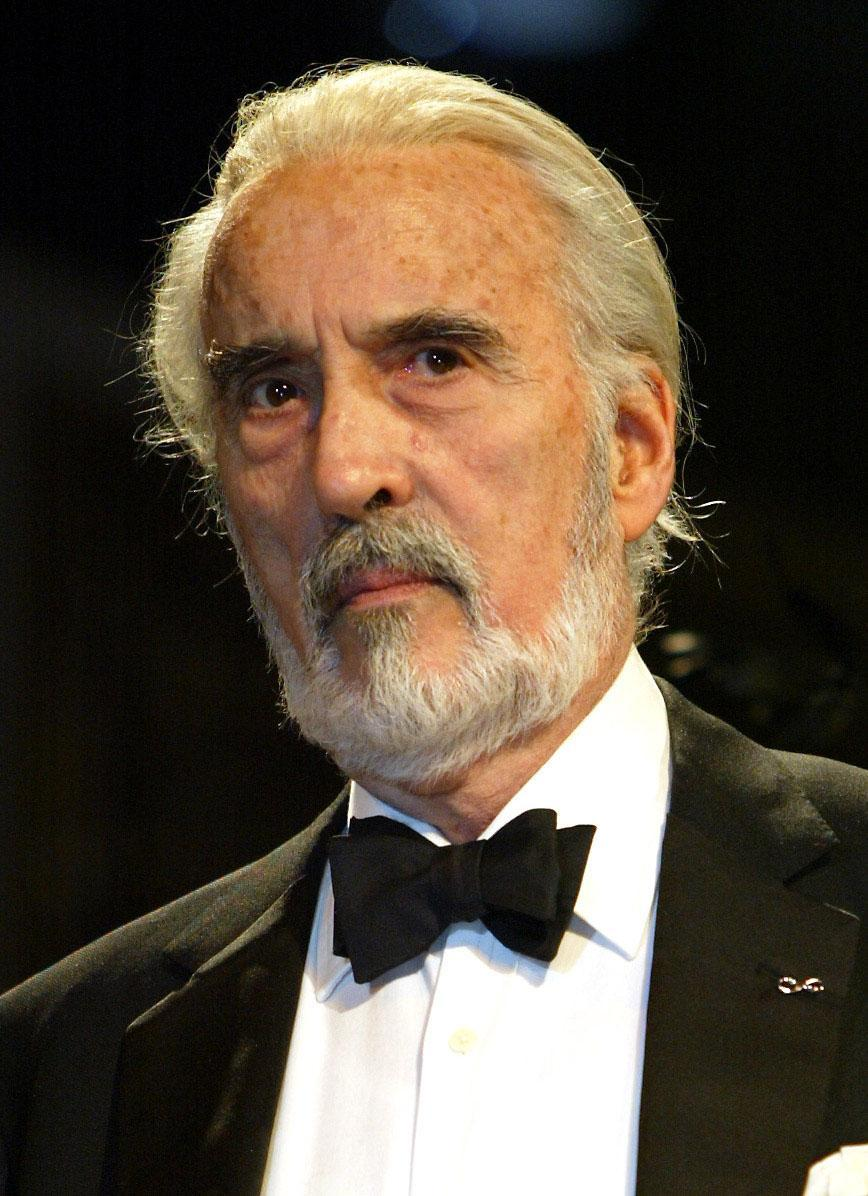 Is Christoper Lee in the 1992 beauty and the beast?