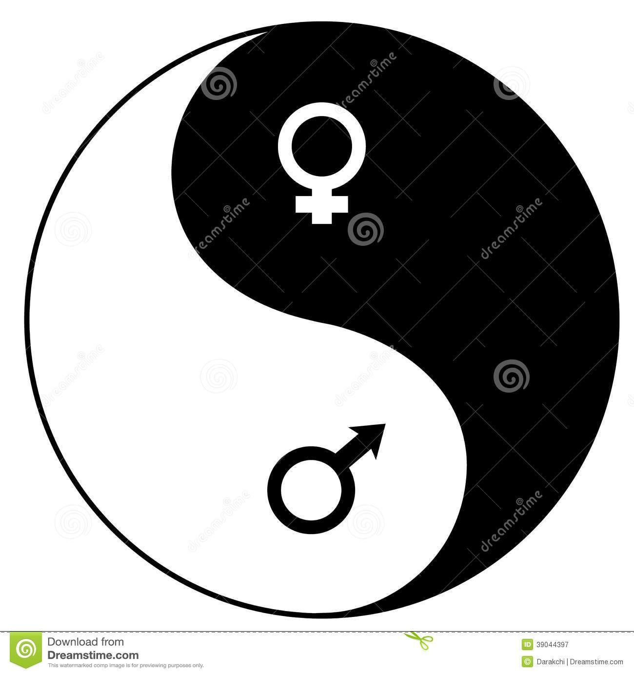 The Yin and Yang smybol are said to also represent males and females.Do you think this should play a part in describing if you're Yin or Yang?