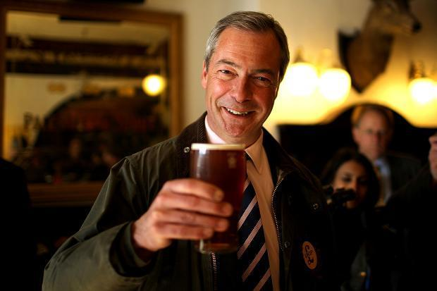How would you describe Nigel Farage?