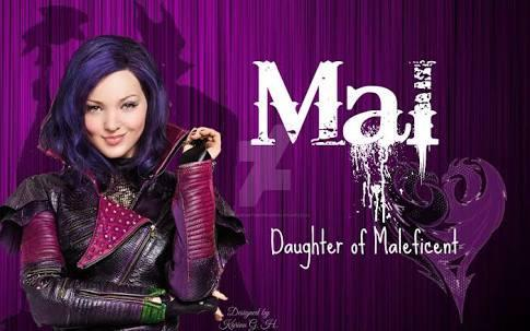 Who plays as Mal on Disney Channel Desandents?
