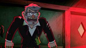 Me:Grunkle Stanly! Stan:Do you have to say my full name? Me:Yes.You aren't fully trusted yet and you must accept it. Stan:Oye,fine.What would've you done in my shoes with the whole backstory?