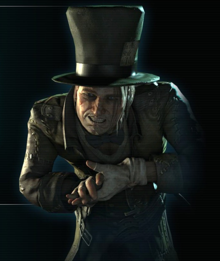 Now who is this villain?He uses hats to control people with mind control and he kills blond women.