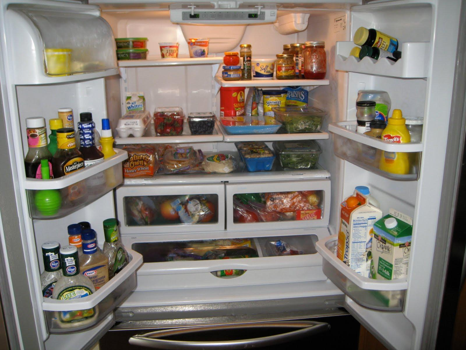 You open fridge and it is full but these nothing you want to eat!