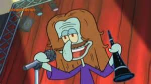 What is Squidward's favorite musical artist?