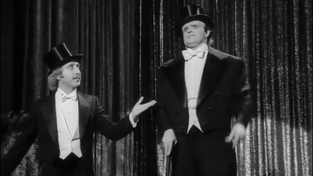 "In the Mel Brookes movie, ""Young Frankenstein"", what song did Dr. Frankenstein and the Monster sing?"