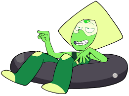 What episode did Peridot first appear in?
