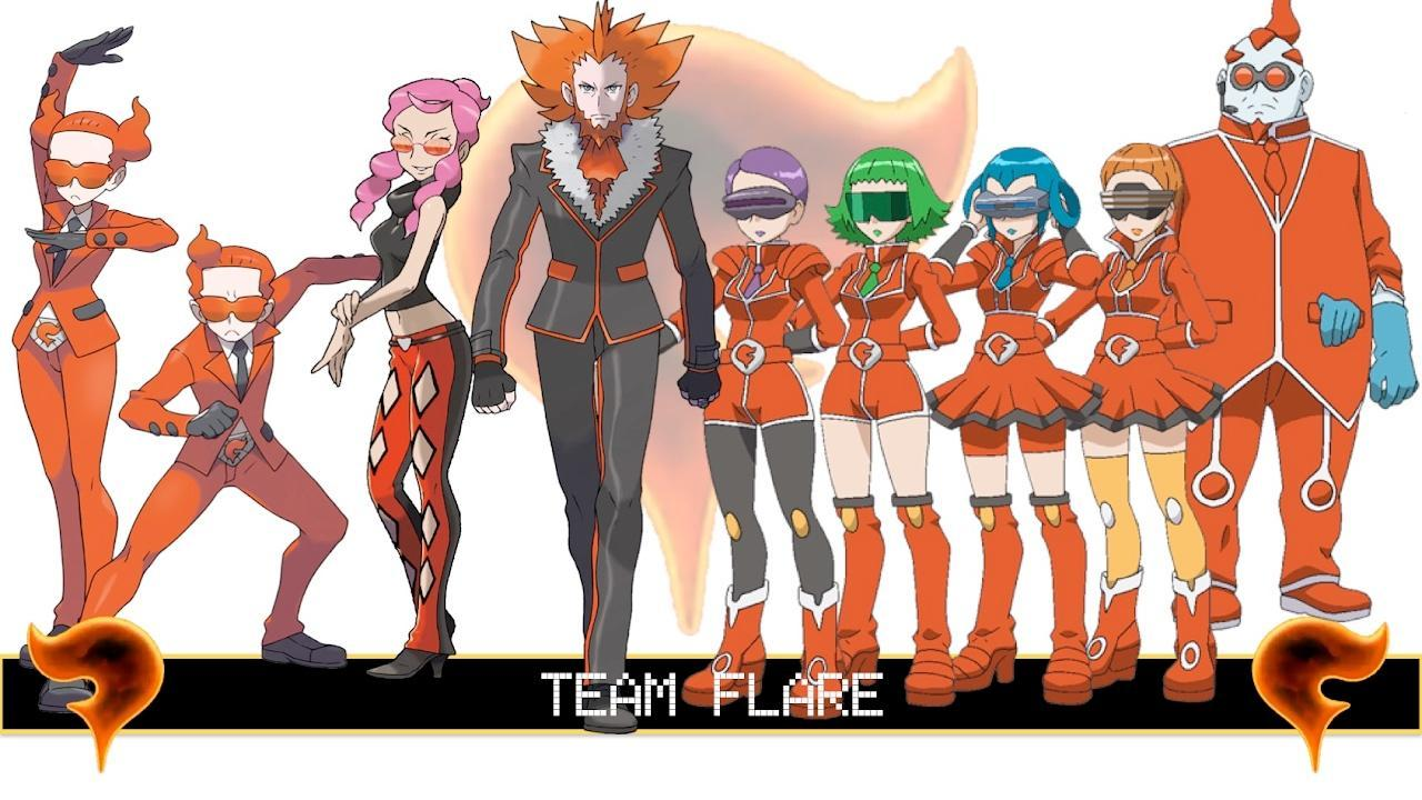 If team flare got your Pokemon and took them away what would you do?