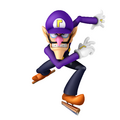 What is Waluigi's Hat colour