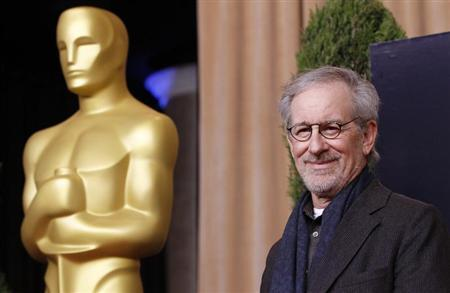 What was the first film which Steven Spielberg won best director for?