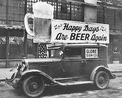 What year did Prohibition end?
