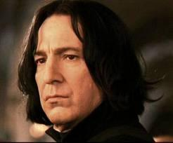 What is the name of the actor who plays Snape?