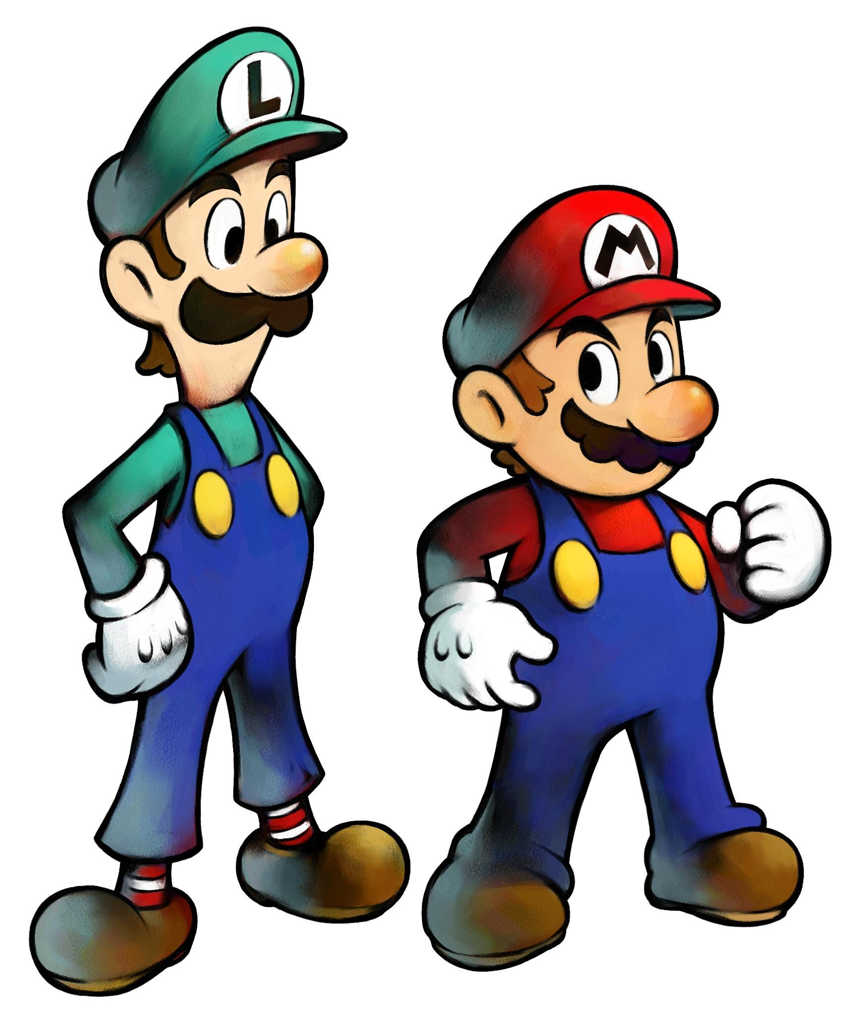 who is Mario's brother