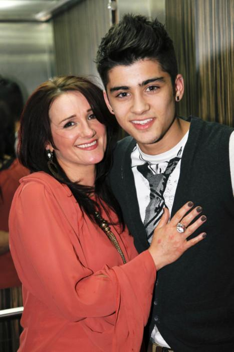 What is Zayn's mums name?