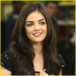 Who does Lucy Hale play on Pretty Little Liars?