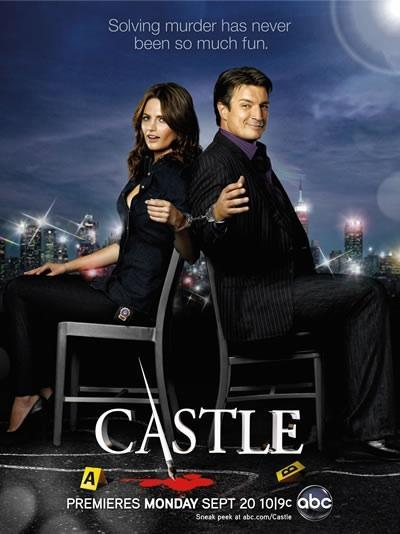Where was the first place where Castle was arrested by Beckett?