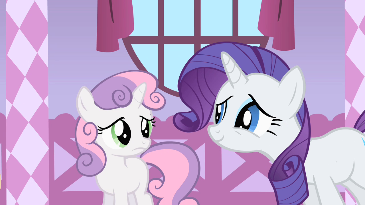 What is the name of Rarity's pet?