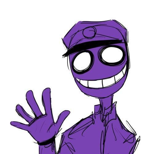 Who is the purple guy?